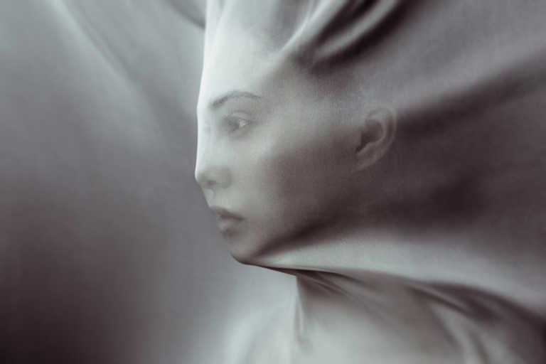 Концепт. Фототосессия в ткани