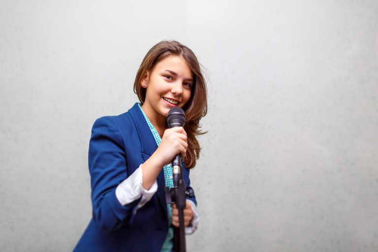 Рекламные фотографии для Школы Вокала