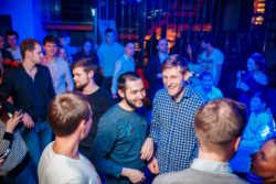Репортаж в ночном клубе, день рождение - репортаж