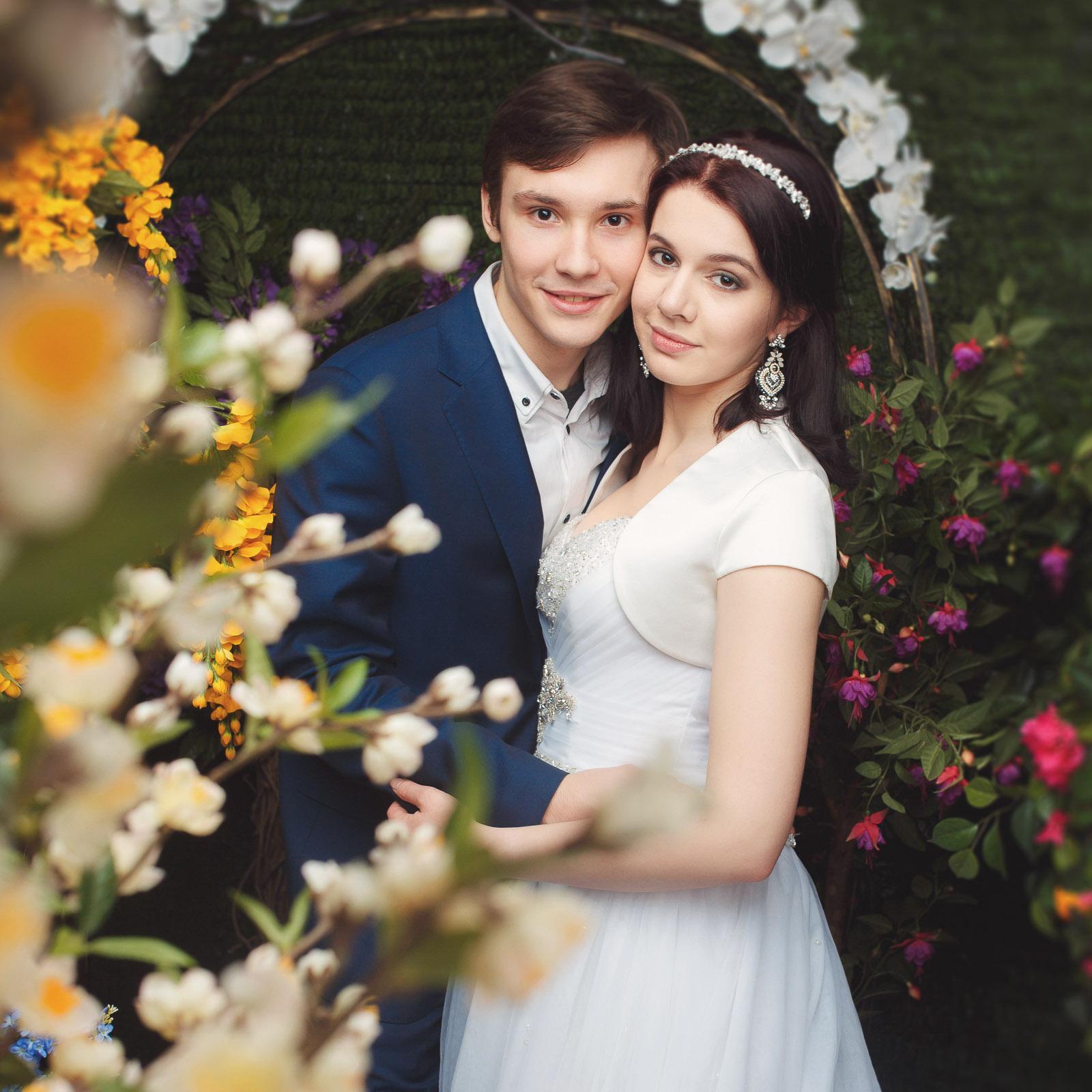 Свадебный фотограф на свадьбу, примеры работ фотографа в фотостудии