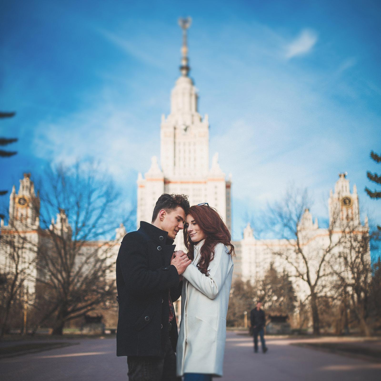 Фотосессия Love Story, свадебный фотограф в Москве