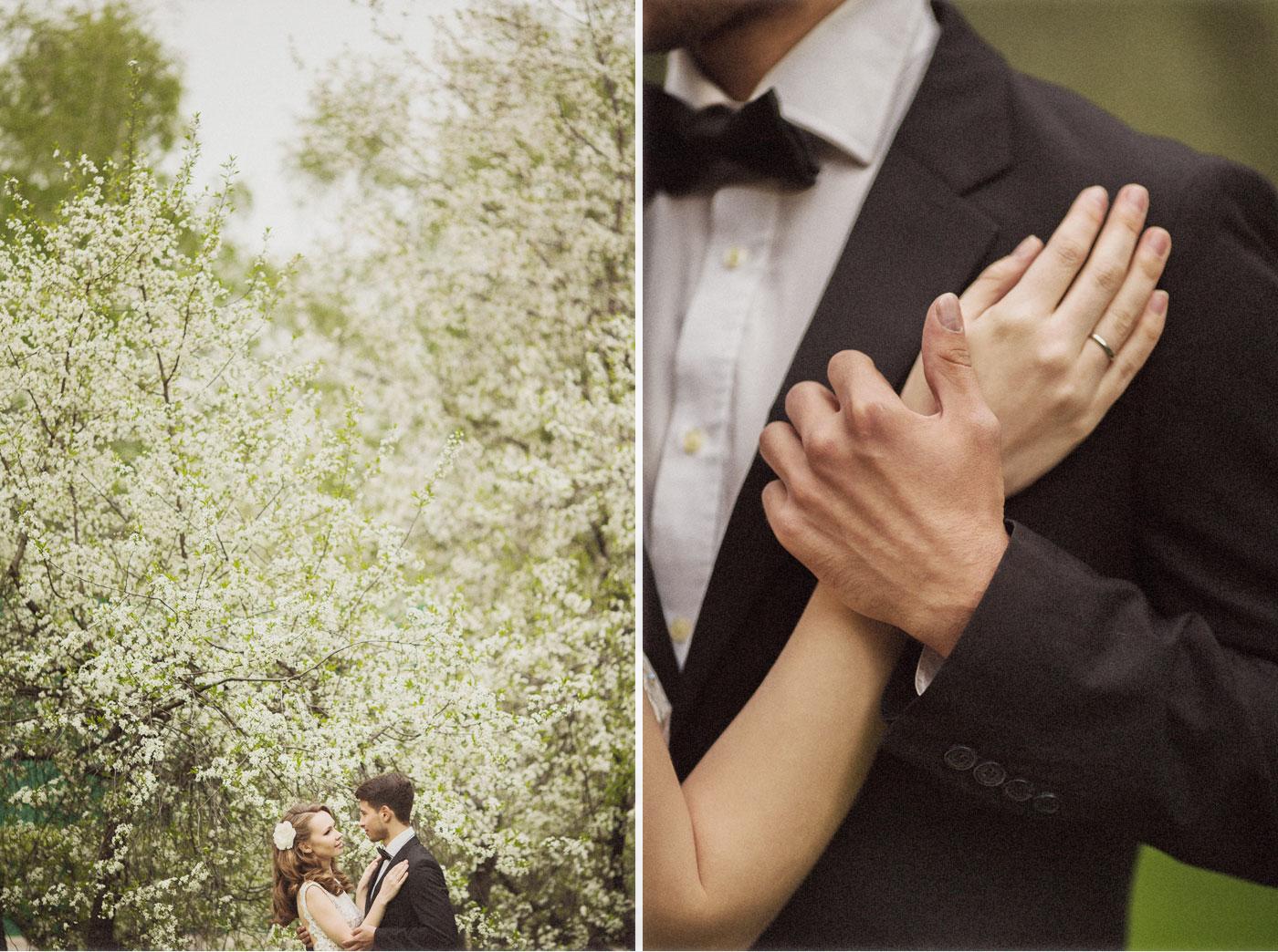 Весенняя свадьба в Москве