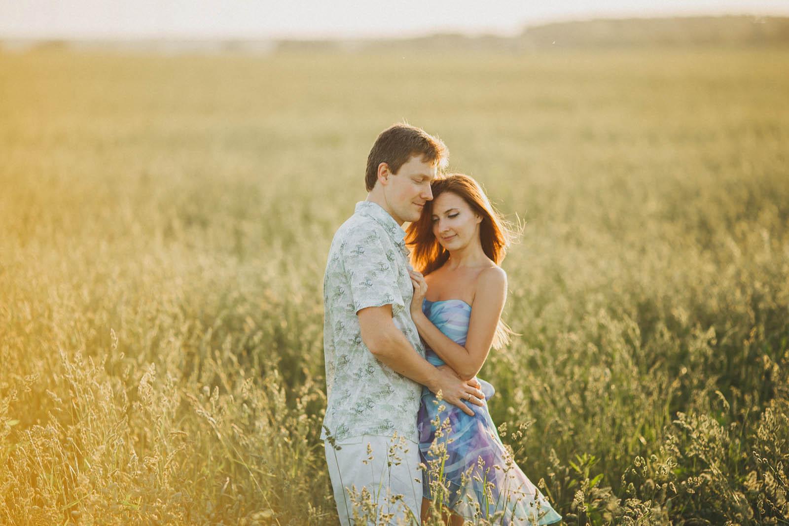 Фотосессия Love Story в Подмосковье