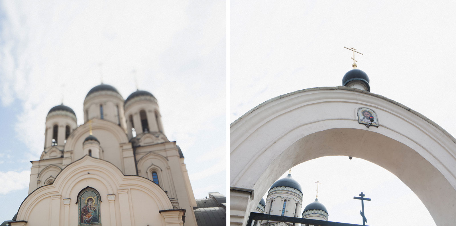 Свадебная прогулка в коломенском. Венчание в церкви.