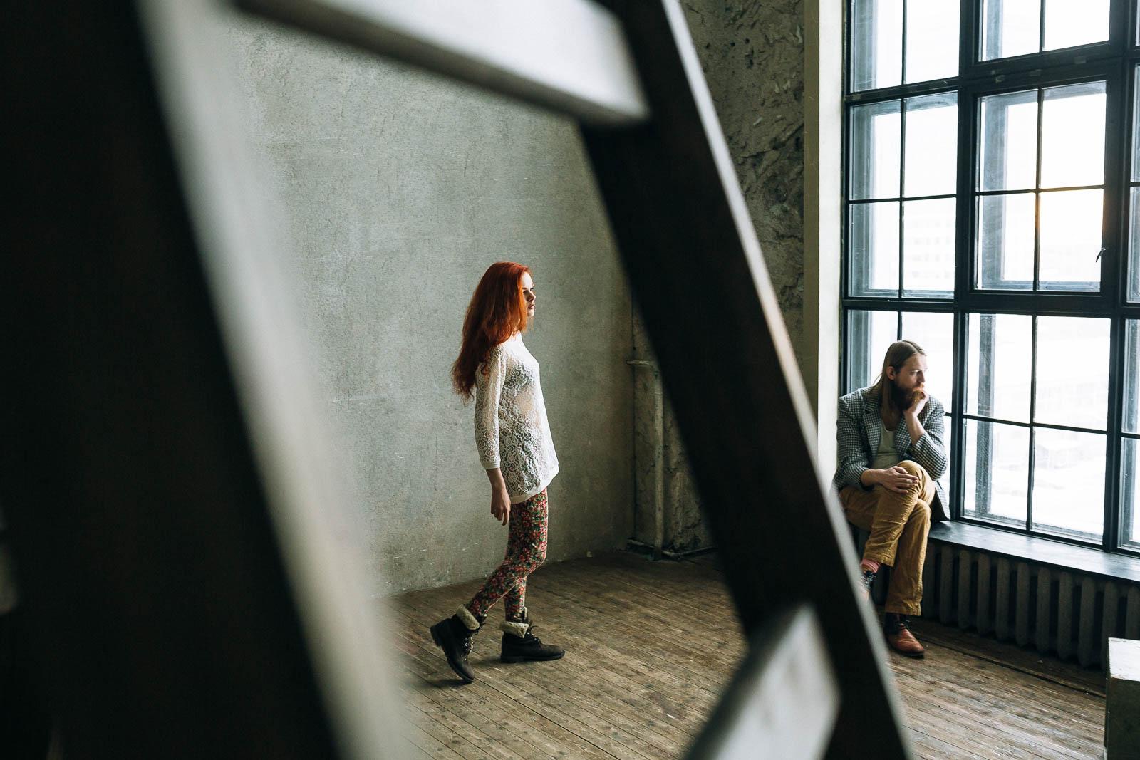 Художественная фотосессия Love Story в Москве