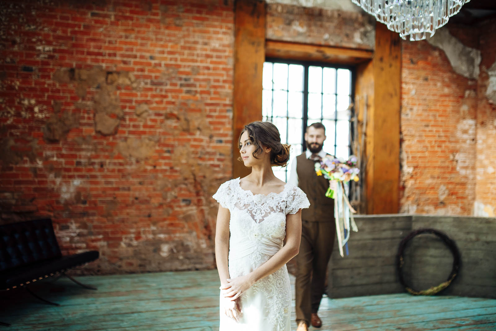 Свадебная фотосъёмка в лофте