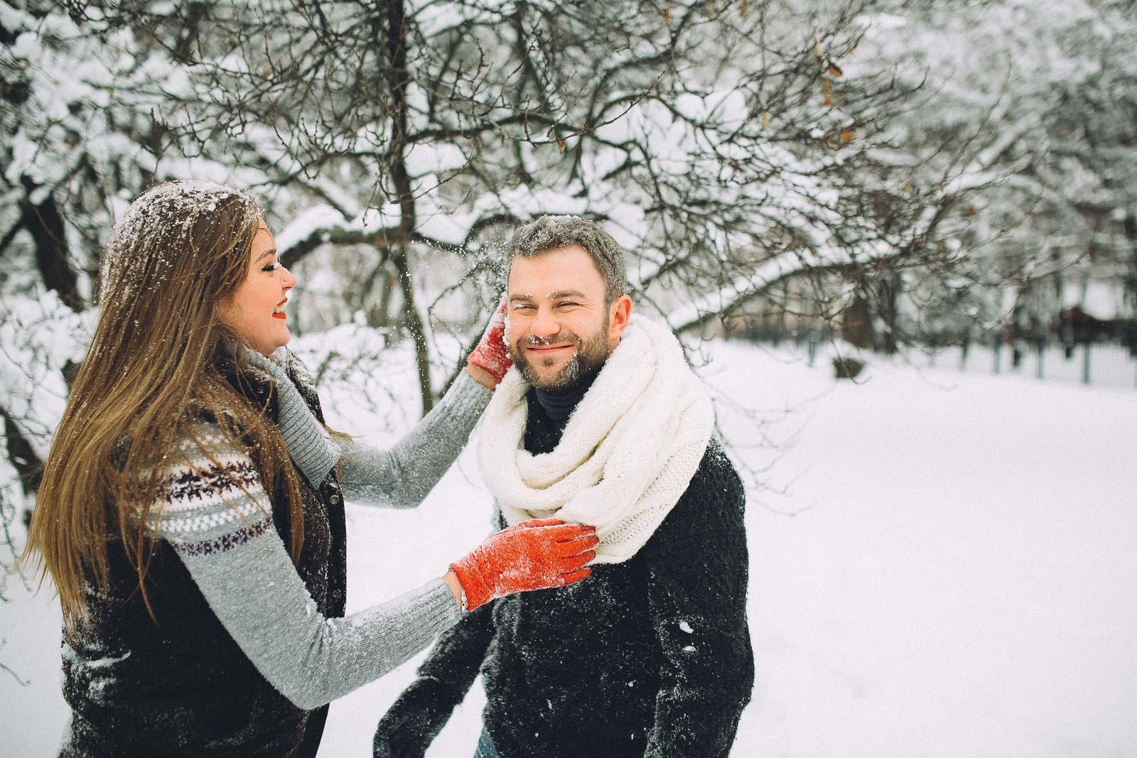 досуге прототипированием зимние фотосессии на улице для пары экзотического города