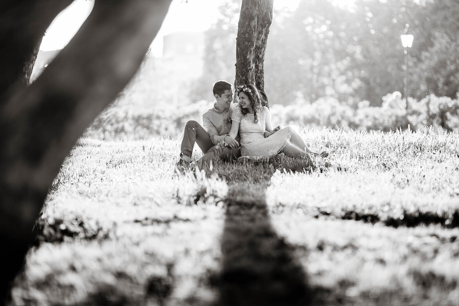 Свадебный фотограф в Москве. Love Story в коломенском