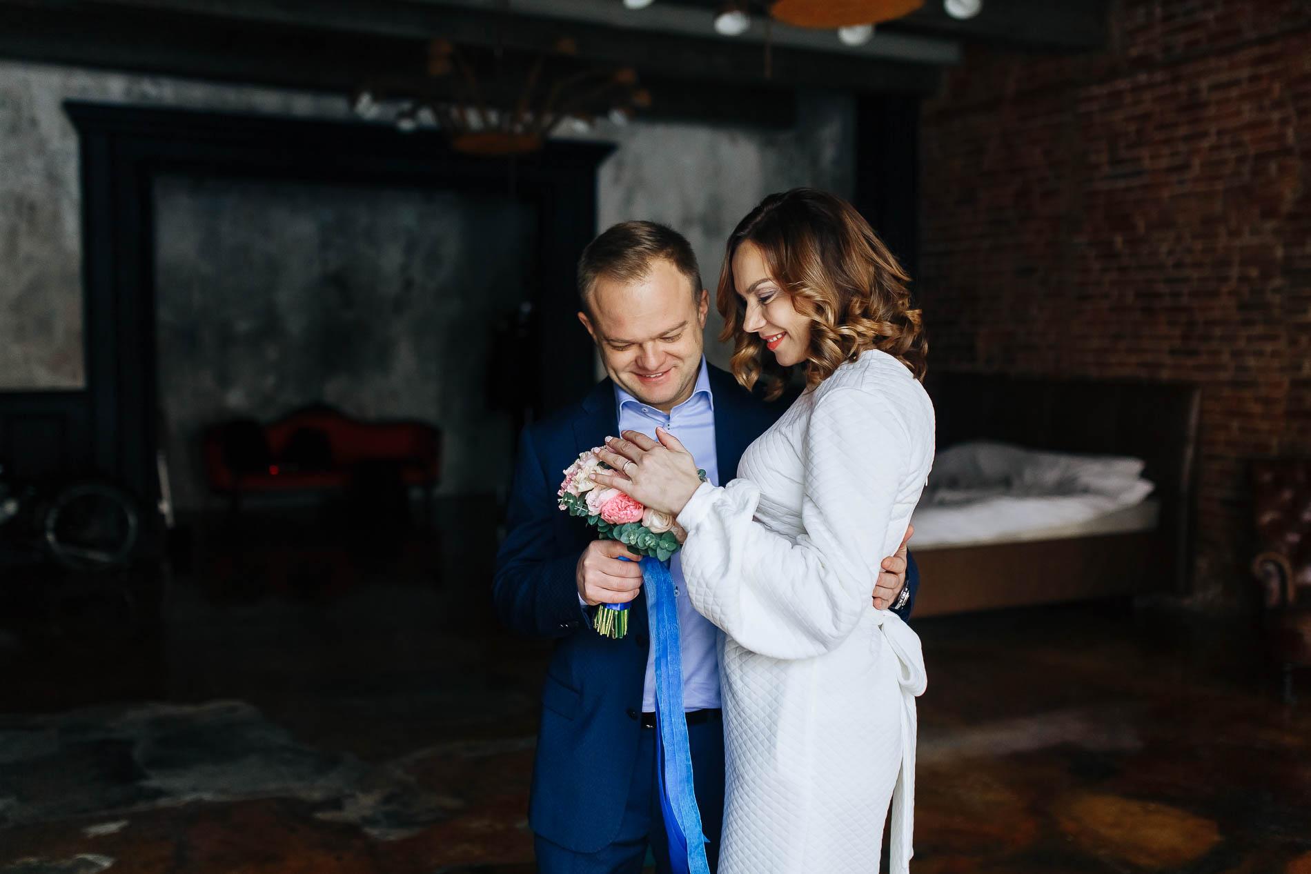 Свадьба для двоих. Свадебный фотограф в Москве