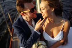 Фотосессия на яхте. Свадьба в яхт клубе. Pavel MoonRay