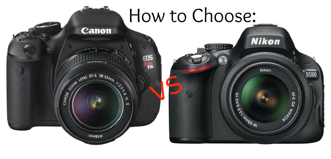 Canon против Nikon: битва века