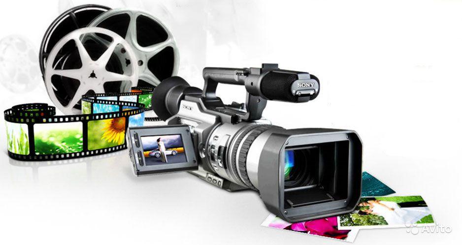 Работа команды фотографов и видеографов
